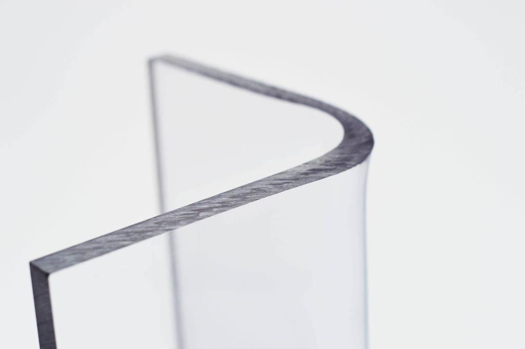 Gebogenes Acrylglas